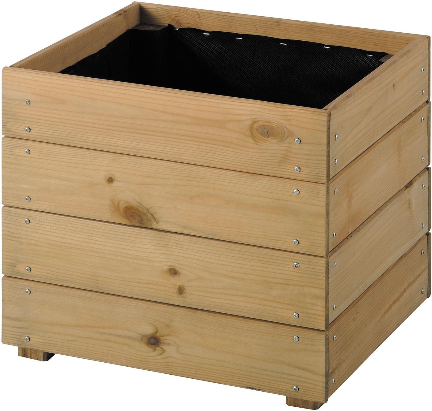 jardini re bois carr essencia 40. Black Bedroom Furniture Sets. Home Design Ideas