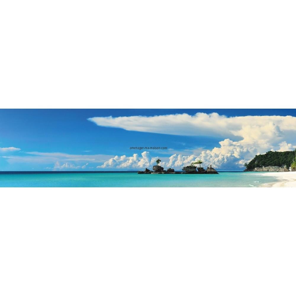 Brise vue toile 3 ml atoll - Brise vue toile ...