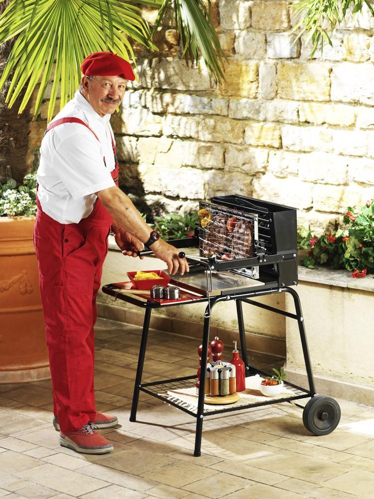 Barbecue raymond - Barbecue charbon et plancha ...
