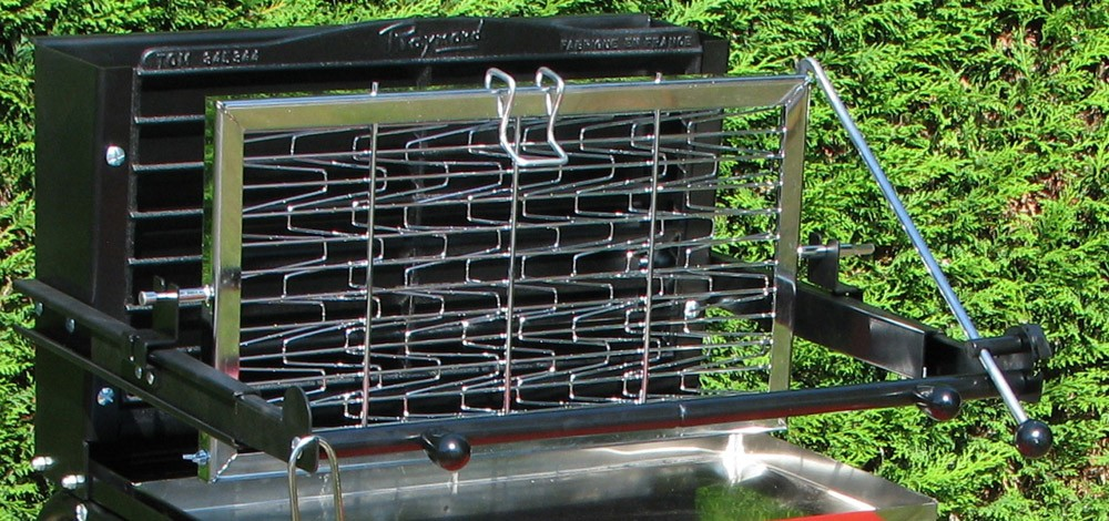 Barbecue charbon RAYMOND vertical Somagic  Webdistrib  ~ Barbecue Vertical Bois