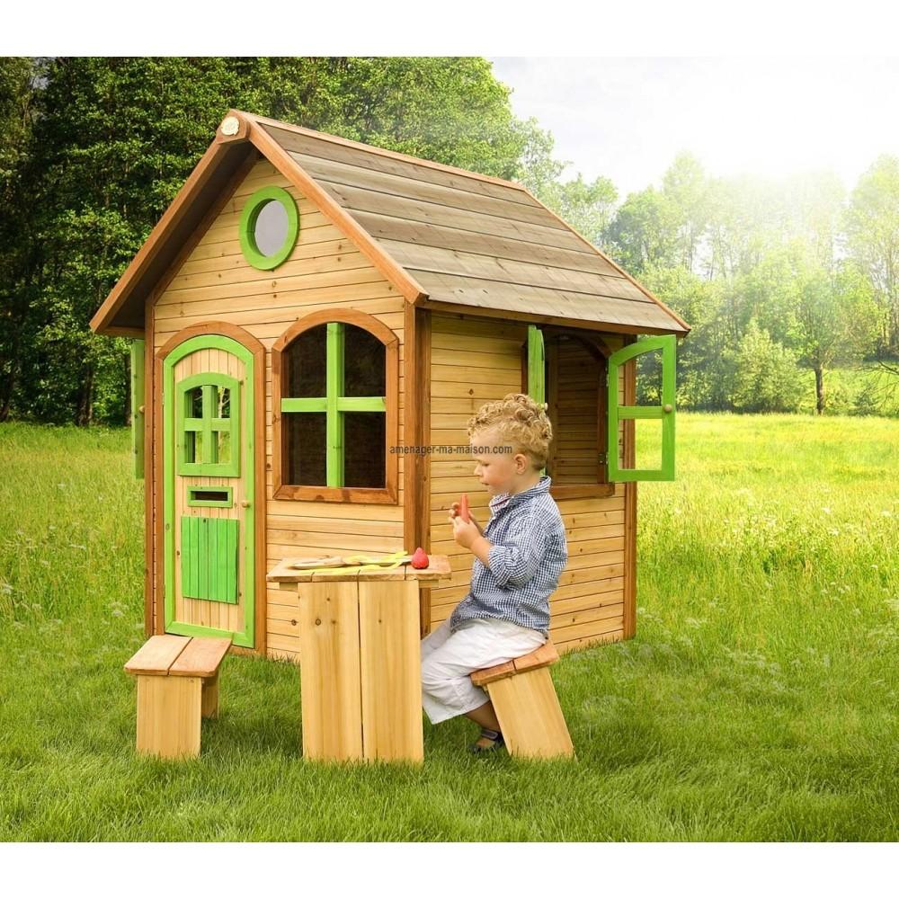 maisonnette en bois. Black Bedroom Furniture Sets. Home Design Ideas