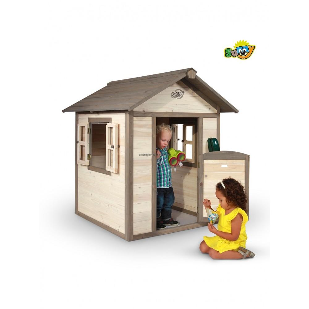 Maisonnette en bois enfant - Maisonnette en bois leclerc ...