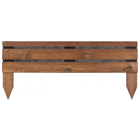 bordure bois planter 23 43 x 100 cm. Black Bedroom Furniture Sets. Home Design Ideas