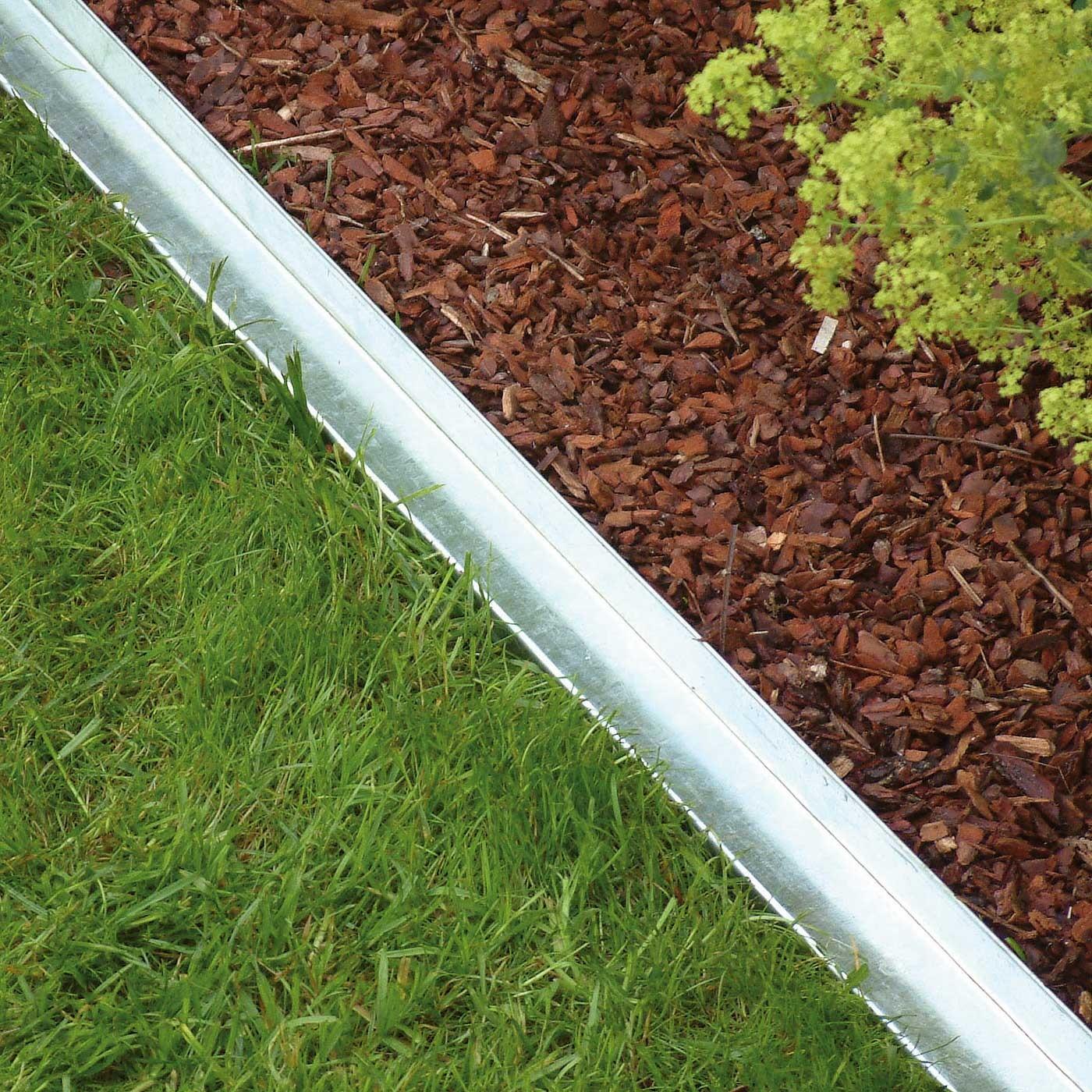 Bordure m tal droite 9 x 59 for Bordure metal pour jardin