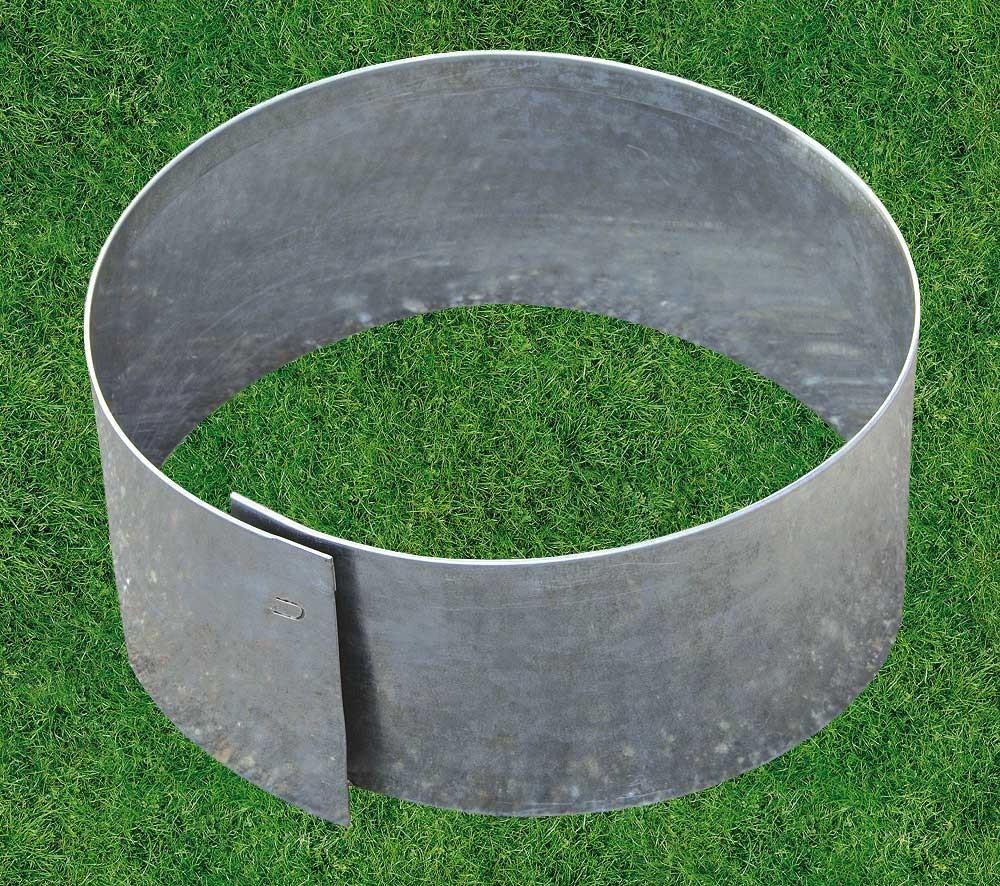 bordure m tal circulaire flexible d 20. Black Bedroom Furniture Sets. Home Design Ideas