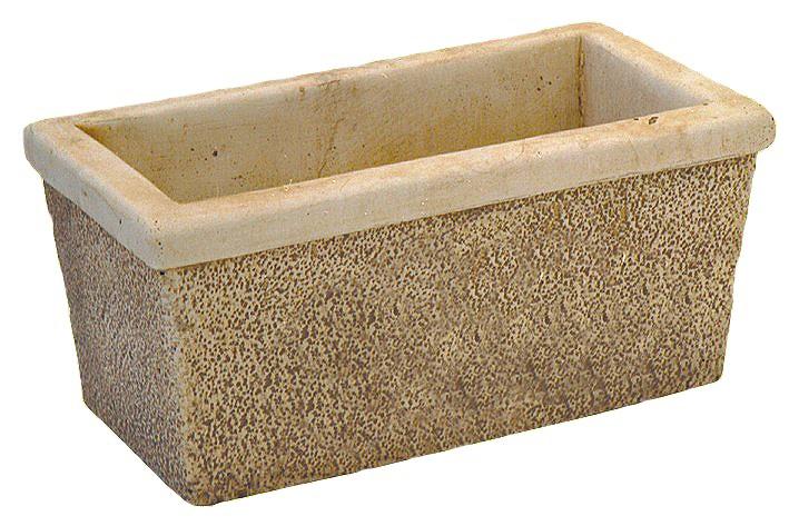 jardini re rectangle b ton lisse. Black Bedroom Furniture Sets. Home Design Ideas