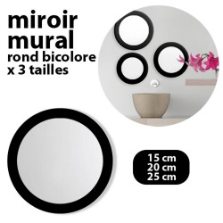 3 MIROIRS ROND