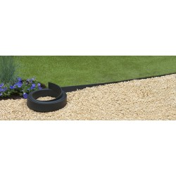 Bordure Jardin Plastique H.12 cm x 5 m Noire