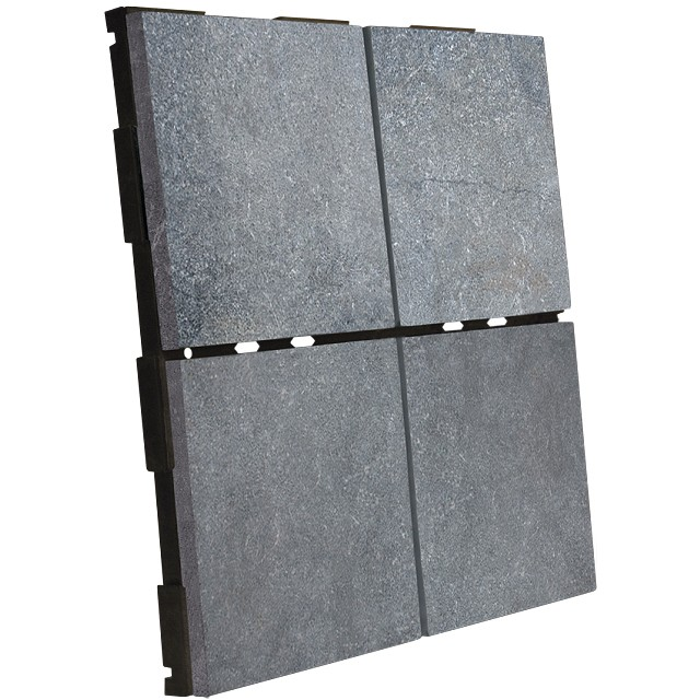 dalle clipsable pierre bleue sabl e 30 x 30. Black Bedroom Furniture Sets. Home Design Ideas