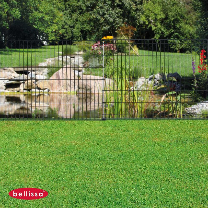 protection cloture jardin bordure de jardin en acier fer vieilli ajoure h cm with protection. Black Bedroom Furniture Sets. Home Design Ideas