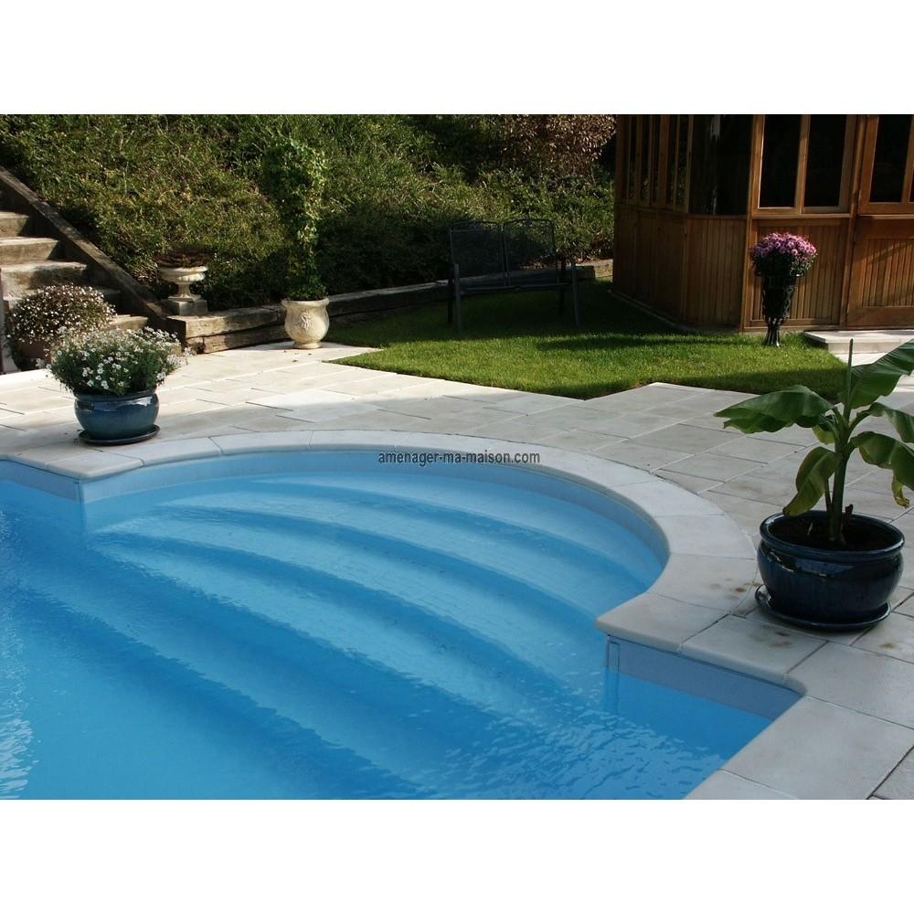 Kit margelle piscine for Piscine 4x8