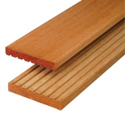 Lame terrasse bois exotique 14,5 cm de large en bangkirai
