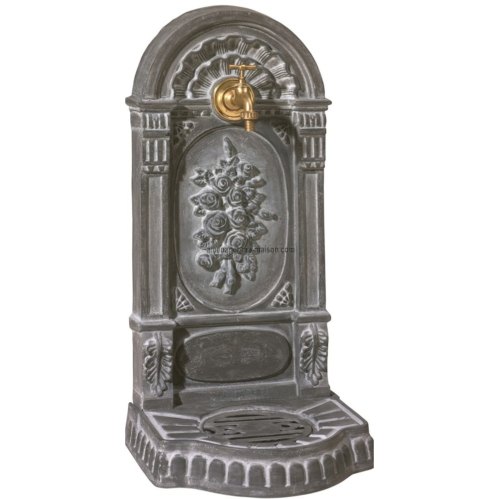 Fontaine fonte trouvez le meilleur prix sur voir avant d - Fontaine exterieure fonte ...