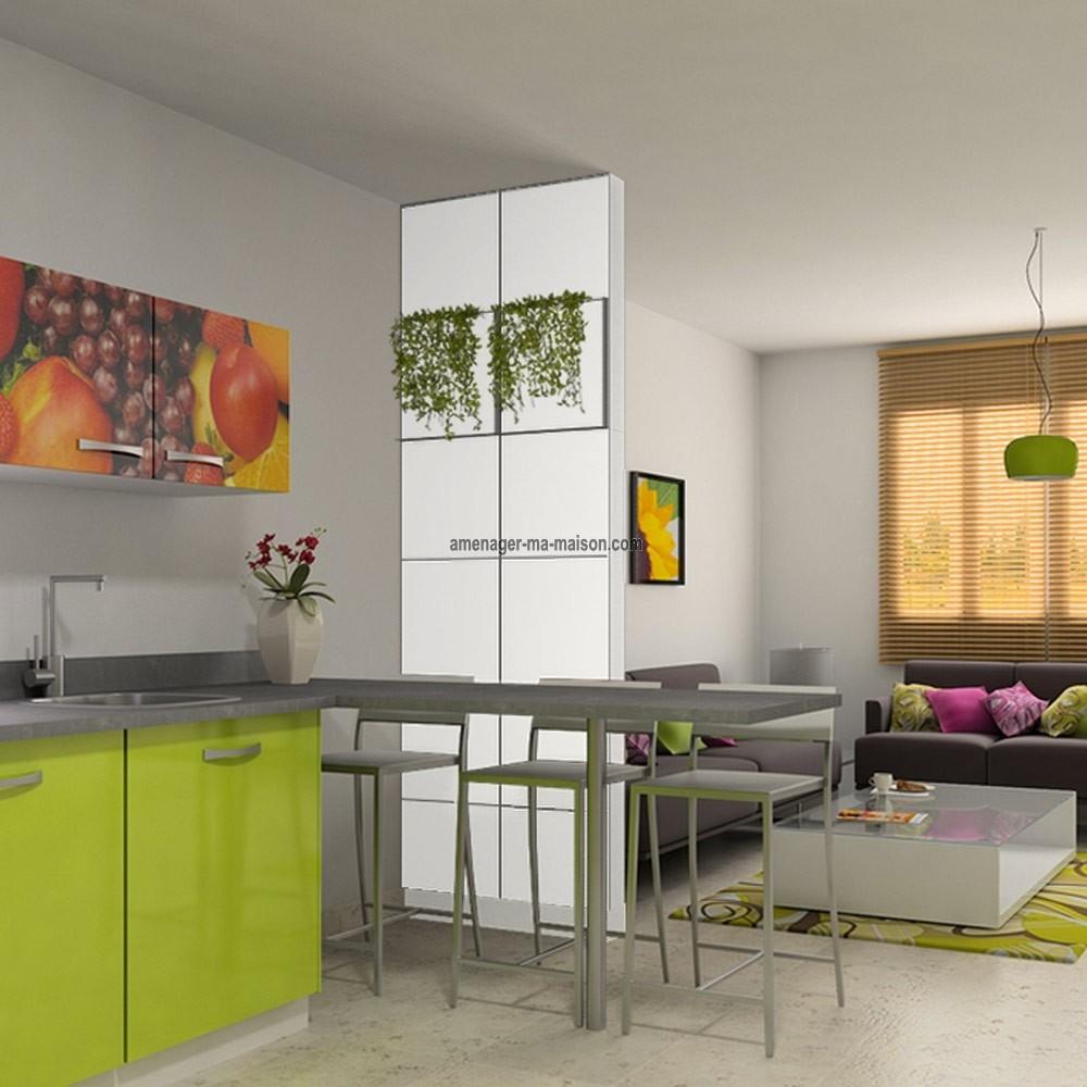 Cloison bois int rieur amovible id e inspirante pour la conception de la maison - Cloison amovible bibliotheque ...