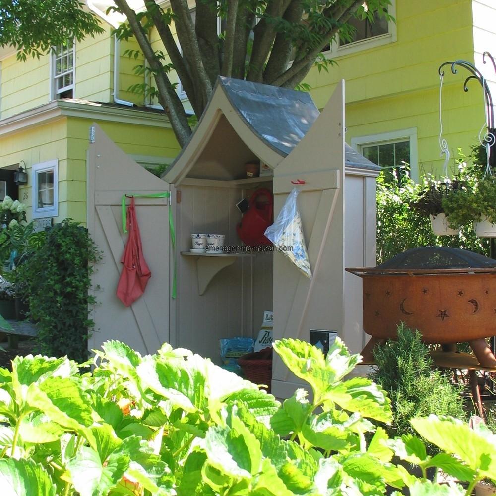 rangement outils de jardin rangement outil jardin sur enperdresonlapin. Black Bedroom Furniture Sets. Home Design Ideas