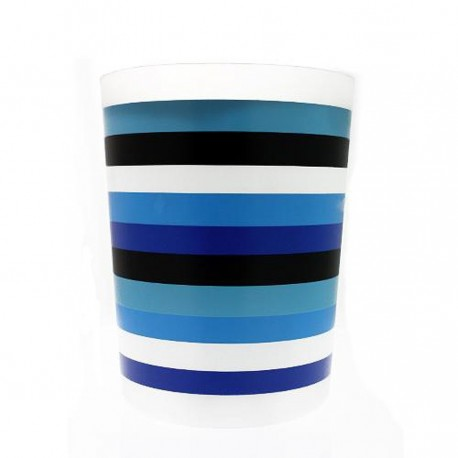 Poubelle de salle de bain en plastique for Poubelle de salle de bain bleu