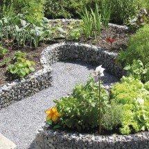 bordure acier pour terrasse et jardin. Black Bedroom Furniture Sets. Home Design Ideas