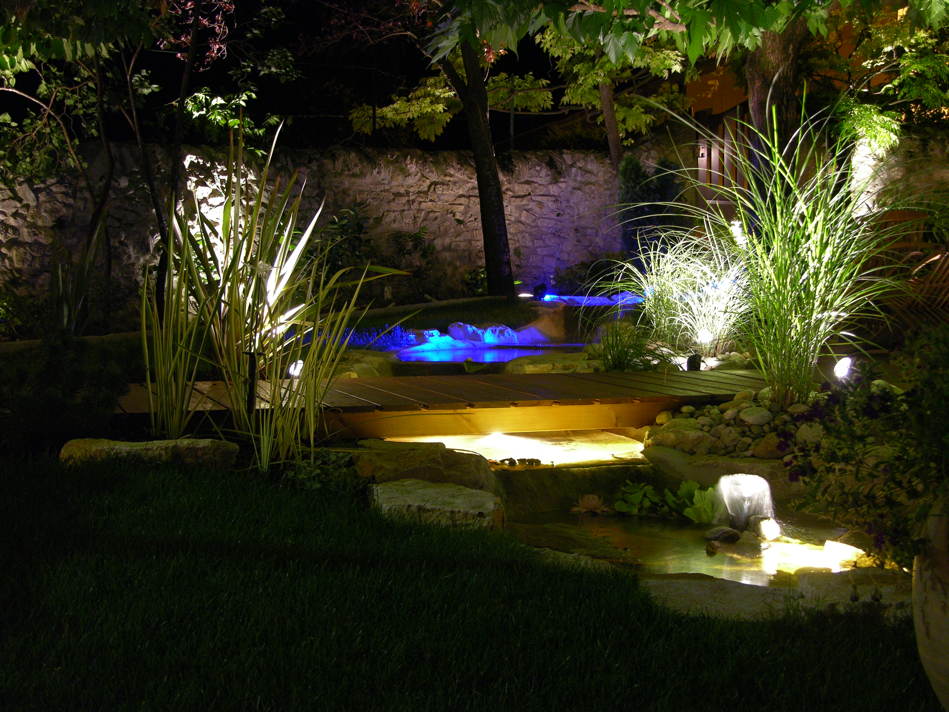 Amenager ma maison d cembre 2015 for Lumiere exterieure jardin