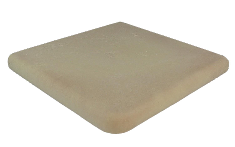 Kit margelle pour piscine en pierre reconstitu e plate for Bord de piscine en pierre