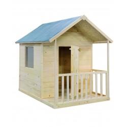 Maisonnette en Bois pour Enfant KANGOUROU Plain-Pied