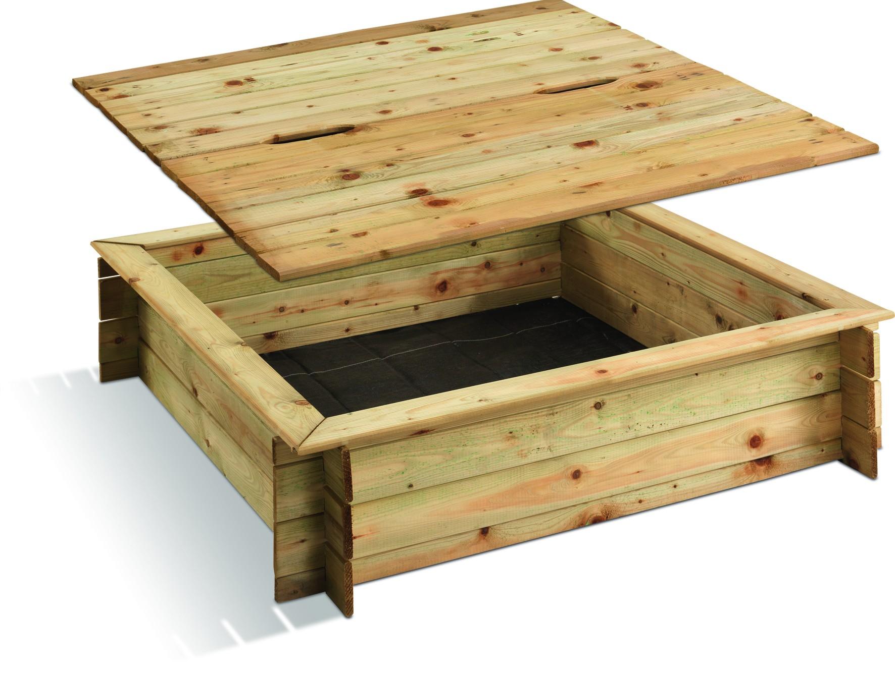 bac sable bois carr. Black Bedroom Furniture Sets. Home Design Ideas