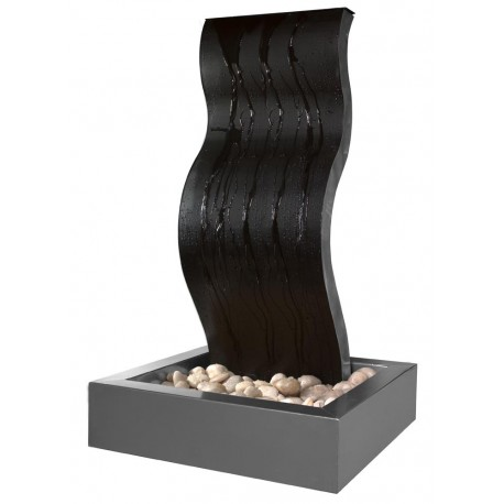 fontaine en acier ondine. Black Bedroom Furniture Sets. Home Design Ideas
