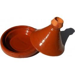 Plat tajine terre cuite 21,5 cm