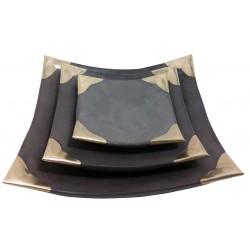 Vide-poche carré en tadelakt