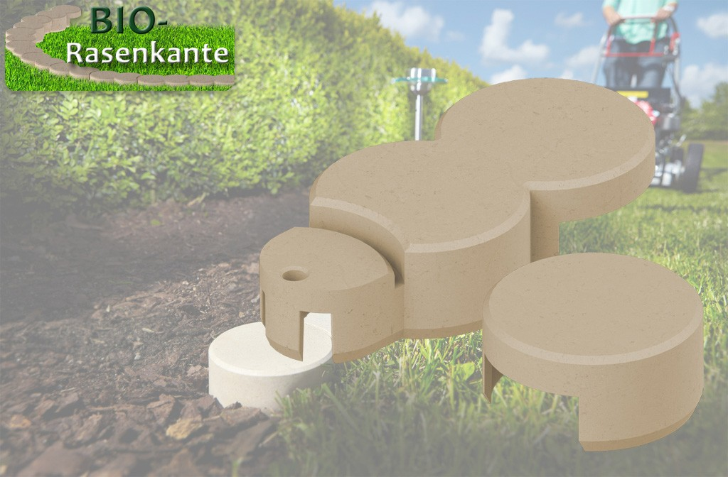 Bordure De Jardin En Plastique Bio Bordure Beige