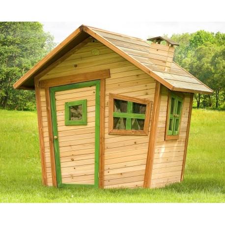 Maisonnette bois enfant alice - Construire maisonnette en bois ...