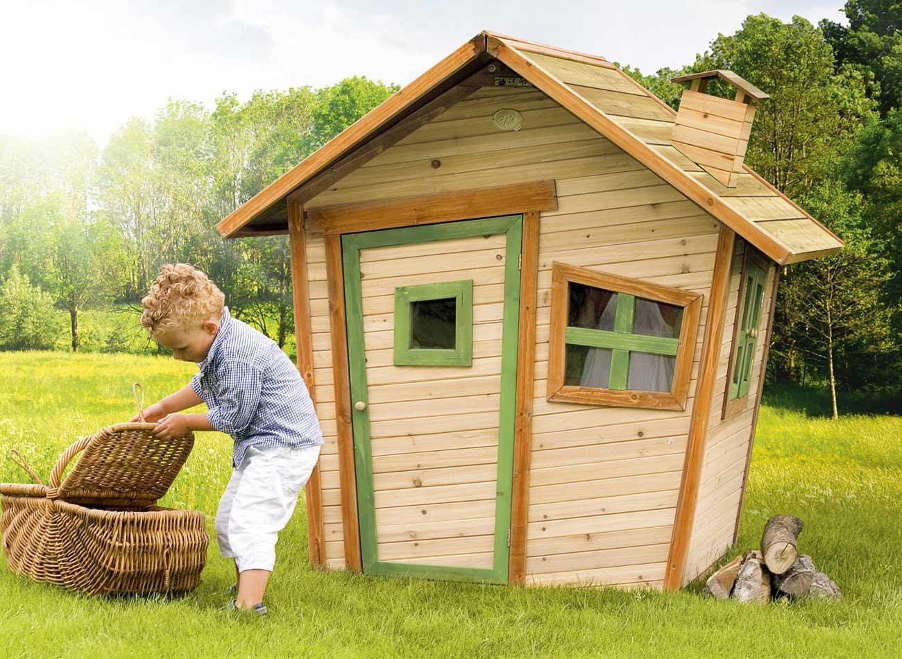Maisonnette bois enfant alice - Maison de jardin enfant ...