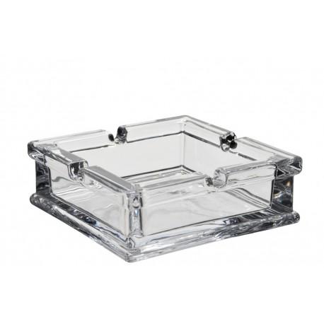 Cendrier verre carré