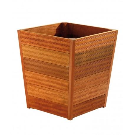 Jardinière en bois conique 60 x 60 x 67 cm