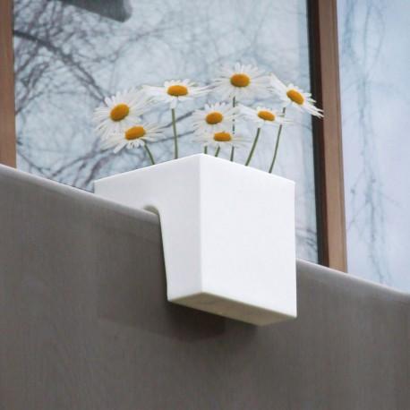 Jardinière Plastique Cubique Steckling Blanche