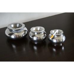 Cendrier boule aluminium