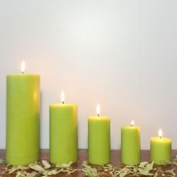 Lot de bougies parfumées