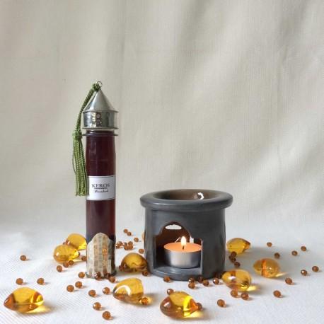 Huile parfumée senteur ambre