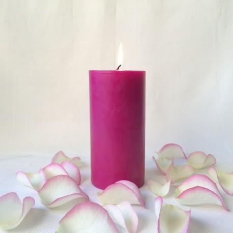 Bougie artisanale parfumée ronde h : 16.5 cm