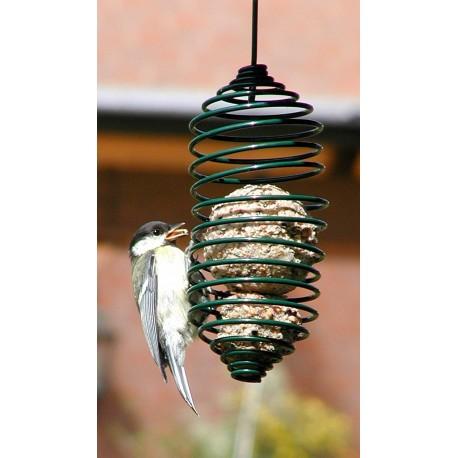 Mangeoire de Jardin en Spirale pour Oiseaux