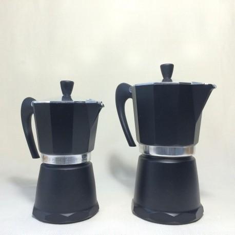 Cafetière Moka noire 2 modèles