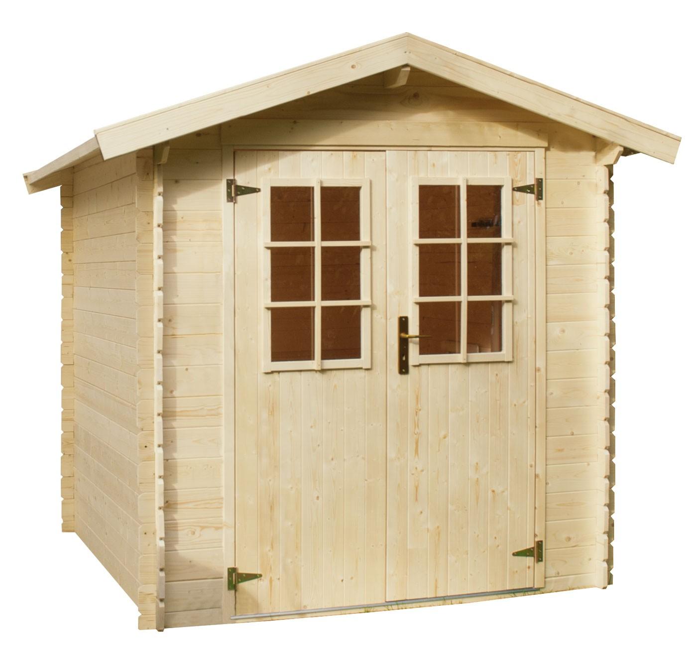 Abri pour ext rieur en bois - Plan abri de jardin en bois gratuit ...
