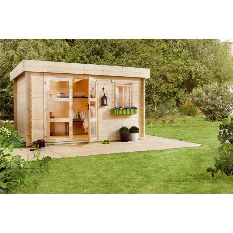 Abri de jardin 8,15 m2 situation