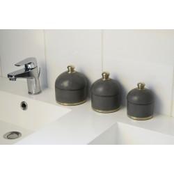 Accessoires de salle de bain tadelakt