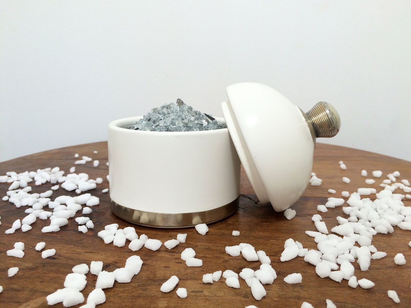 accessoires en tadelakt. Black Bedroom Furniture Sets. Home Design Ideas