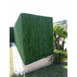 Haie artificielle de jardin en PVC 110 brins 300 x 100 cm