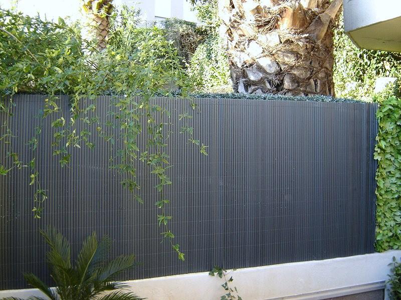 canisse pvc pour ext rieur 1 2 x 3 ml anthracite. Black Bedroom Furniture Sets. Home Design Ideas