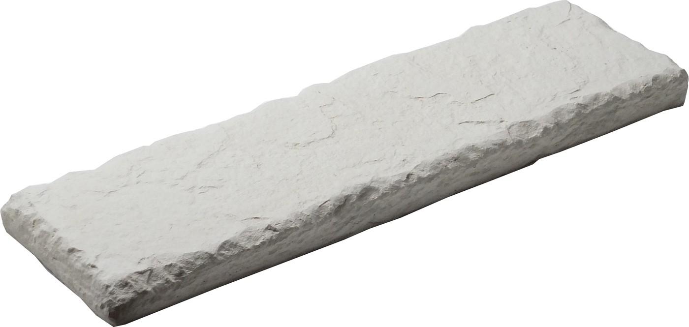 Muret En Pierre Reconstituée tout dessus de muret pierre reconstitu�e aspect ardoise blanc