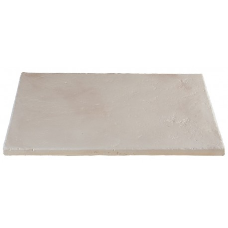Dalle terrasse pierre multiformat 2,5cm blanc nuance