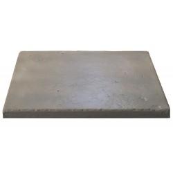 Dalle de terrasse en pierre reconstituée multiformat 2,5 cm gris