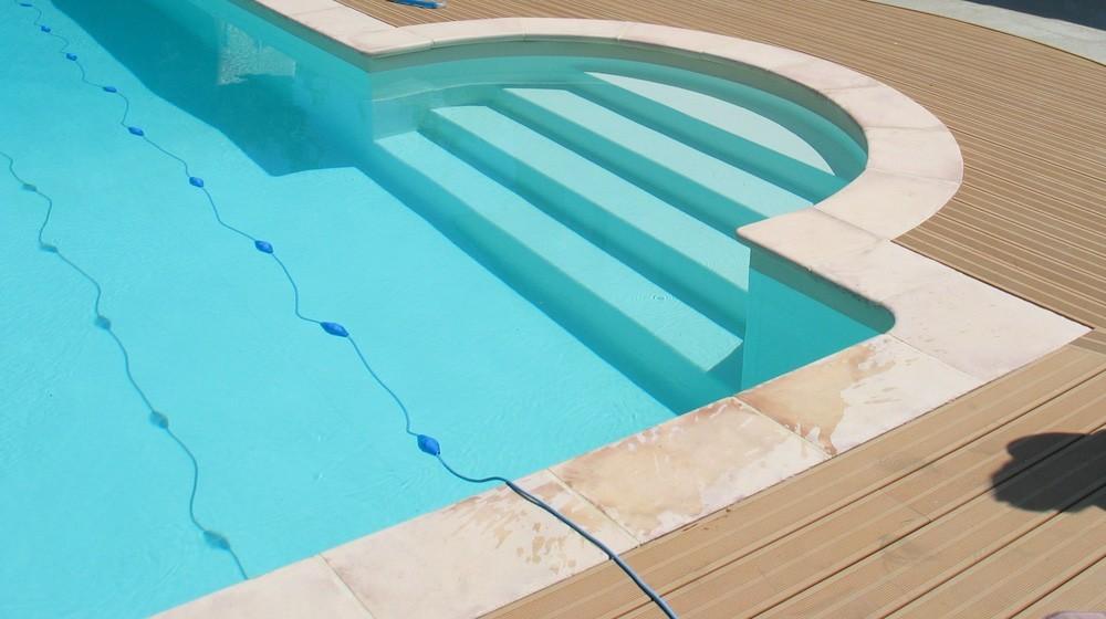 margelle pierre reconstitu e plate droite 2 5 cm ocre nuanc. Black Bedroom Furniture Sets. Home Design Ideas